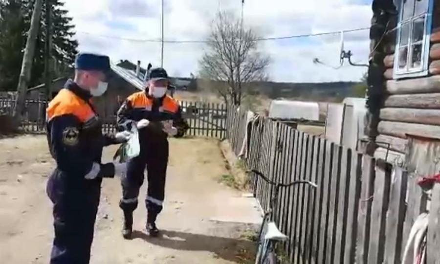 Специалисты МЧС проводят рейды попредупреждению пала сухой травы