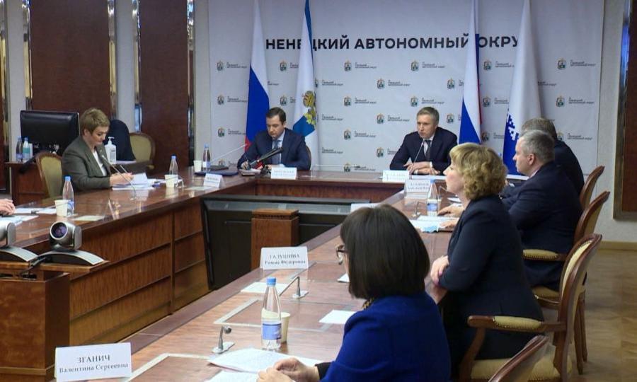 Онамерении создать самый мощный регион Русского Севера путем слияния Архангельской области иНАО заявили ихглавы