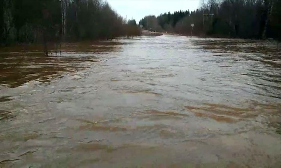 Уровни воды врегионе остаются высокими