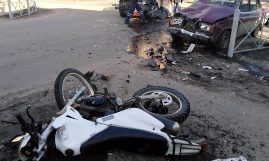 Два ДТП с участием мотоциклистов произошли в регионе за выходные