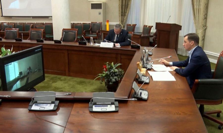Александр Цыбульский провёл оперативное совещание поситуации скоронавирусом