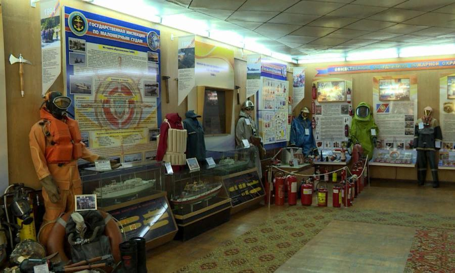 Новыми экспонатами пополнилась выставка Главного управления МЧС России поАрхангельской области