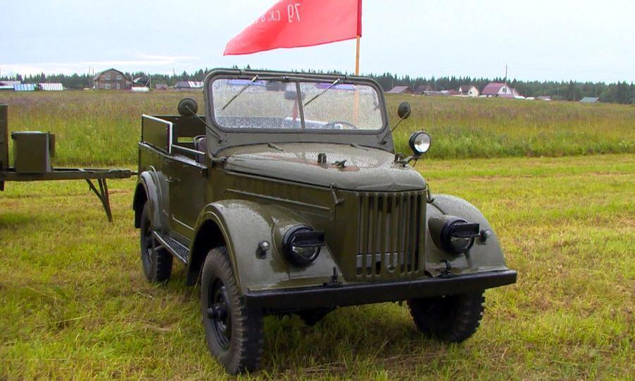 Умелец изВельского района несколько лет потратил навосстановление легендарной машины— ГАЗ-69