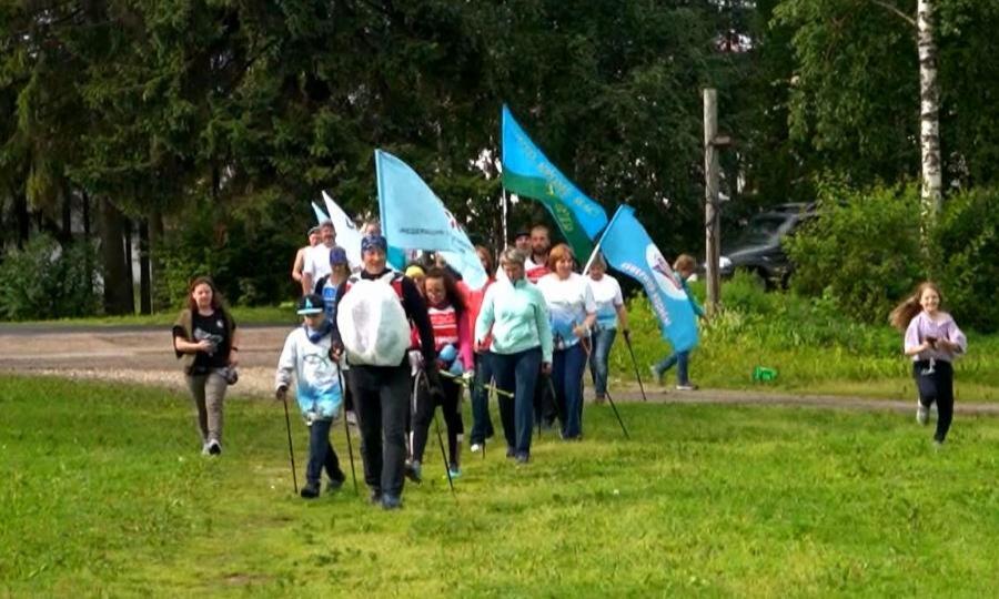Каргополь стал финишной прямой большого марафона северной ходьбы