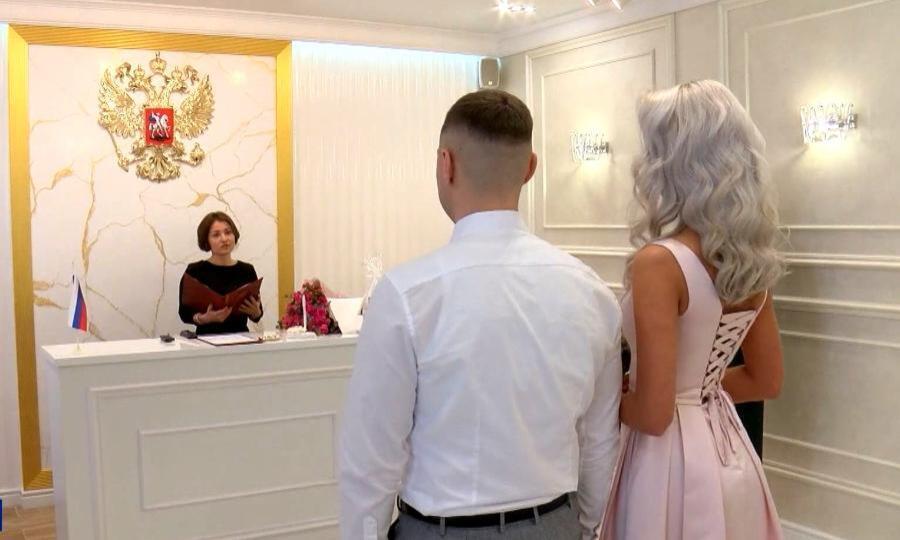 ВКотласе вобновлённом ЗАГСе прошла первая свадьба