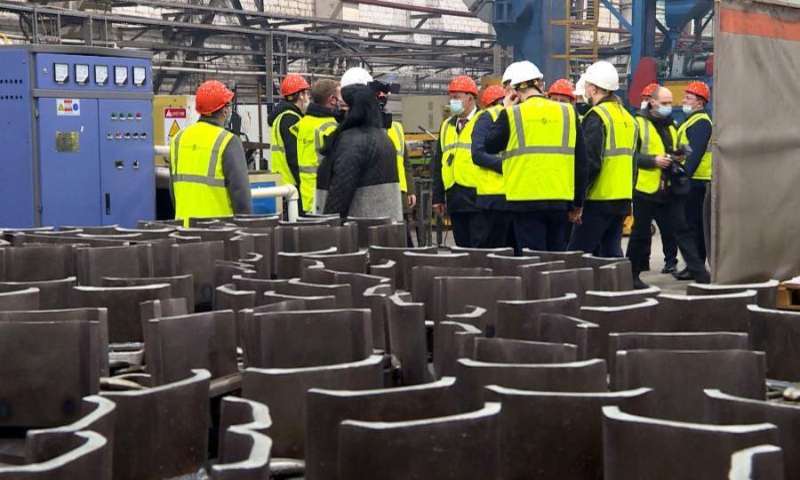Краснофлотский машиностроительный завод наращивает темпы производства