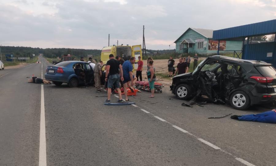 ВДТП вУстьянском районе погибли три человека, четверо травмированы